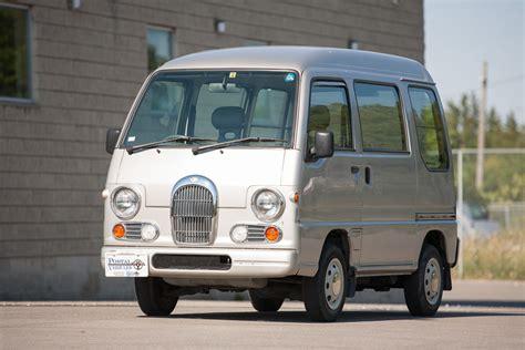 subaru sambar subaru sambar micro van right drive