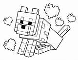 Minecraft Coloring Pages Printables sketch template