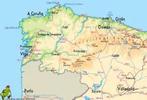 Galicia Spain Map
