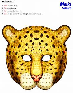 masks clipart cheetah pencil and in color masks clipart With cheetah face mask template