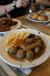 ikea food court items ranked  swedish meatballs