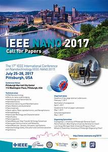 Announcing NANO 2017 Call for Papers - IEEE Nanotechnology ...