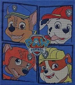 Paw Patrol Tapete : paw patrol crochet pattern crochet knitting pinterest croch trico and croche infantil ~ Eleganceandgraceweddings.com Haus und Dekorationen