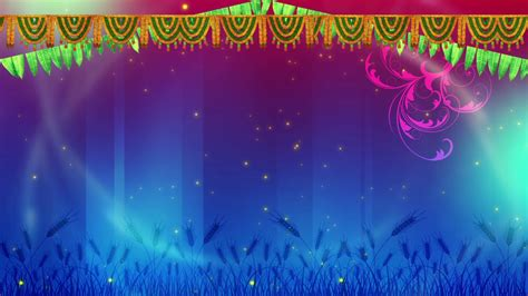 Dussehra Special HD Festival background video effects hd ...