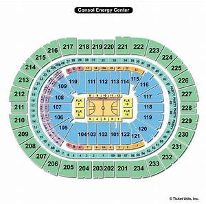 Ppg Paints Seating Chart Concert Consol Energy Center Pittsburgh Pa Seating Chart View