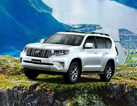 toyota land cruiser prado premium suv launched  rs