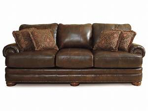 Stanton leather sofa by lane furniture 863 leather for Leather sectional sofa lane