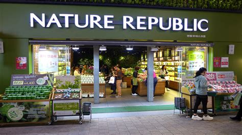 Harga Nature Republic Store Jakarta nature republic opens outlet in indonesia
