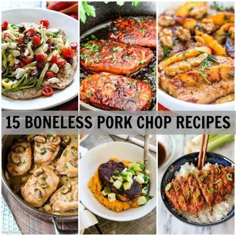 Cooking Boneless Pork Chops