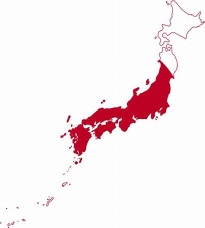 Japan Map Simple Flag Japanese Maps East