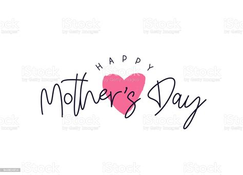 happy mothers day card stock illustration  image