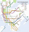 New York City Subway map - Wikipedia