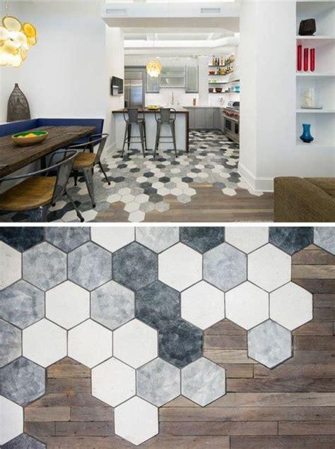 le carrelage hexagonal une tendance qui fait grand