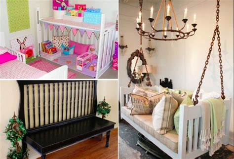 idee chambre bebe 25 idées géniales et utiles pour recycler un lit de bébé