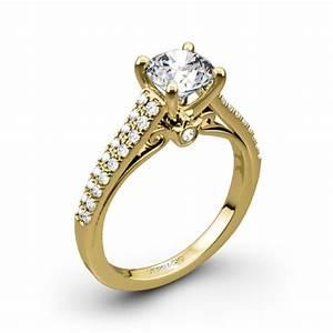 verragio double pave diamond engagement ring 1942 With verragio wedding rings prices