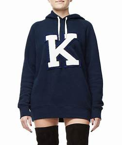 Khloe kardashian39s good american launches a hoodie for Good american letter hoodie