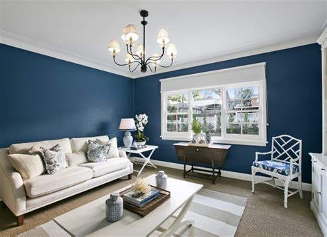 navy blue walls  house building blog
