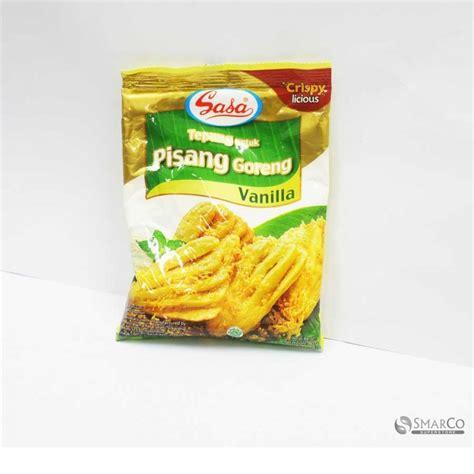 detil produk sasa tepung goreng pisang 80 gr 1014170050062 8992736010168 superstore the smart choice