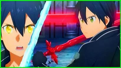 Kirito Dual Sword Alicization God Mode Cool