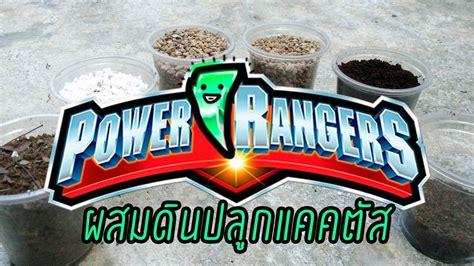 Power ranger soil สูตรดิน ผสมดินปลูก แคคตัส