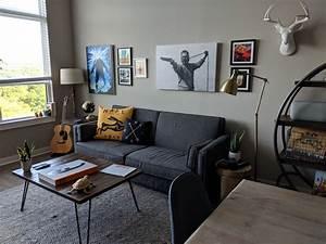 Finished, Decorating, My, Apartment, Durham, Nc