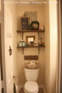 Tiny Half Bathroom Decorating Ideas by Half Bathroom Reveal
