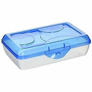 Amazon.com : Sterilite Pencil Box with Splash Tint Lid ...