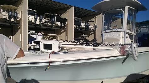 Robalo Boats Factory Tour by Robalo 246 Cayman Build Pics Page 2 The Hull