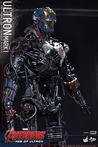 Hot Toys AVENGERS: AGE OF ULTRON Ultron Mark I Action ...