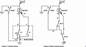 automotive relay for intermittent wiper function With lucas wiper motor wiring diagram additionally 3 position switch wiring