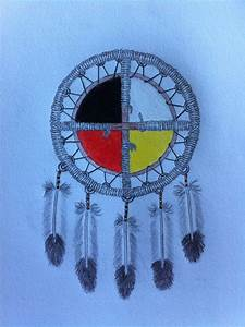 Medicine Wheel Colored by Rodjij on DeviantArt