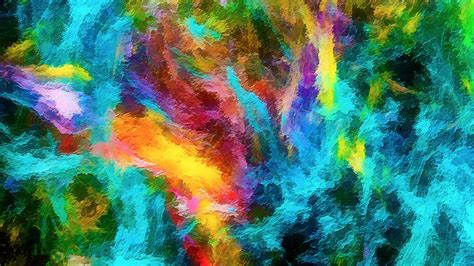 colorful abstract wallpaper wallpaper colorful rainbow hd abstract 3370