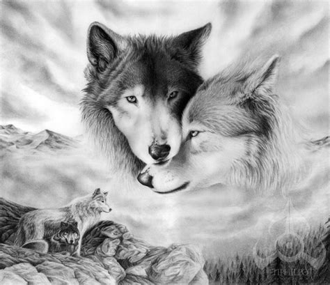 cool wolf drawings  inspiration hative
