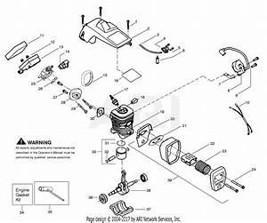 Poulan 2450 Chainsaw Fuel Line Diagram