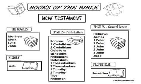books of the bible the wise nest