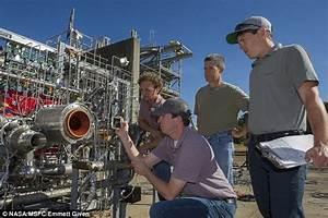 Nasa's 3D printed rocket engine test brings blasters in ...