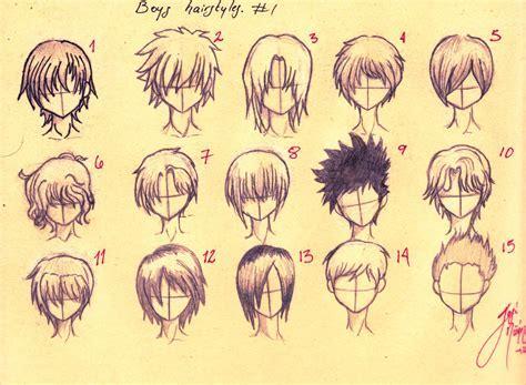 boys hairstyles   Anime boys Hairstyles: all fifteen