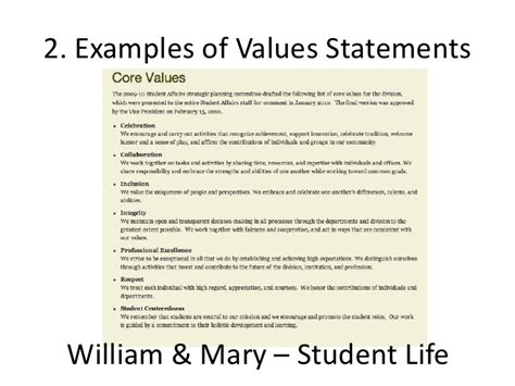 Value Proposition Statement Resume by Value Statement Exles For Resumes 50 Images Value