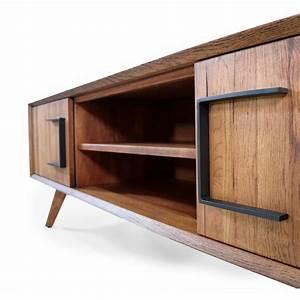 Low Board Eiche : lowboard vega eiche massivholz 180 cm ~ Indierocktalk.com Haus und Dekorationen