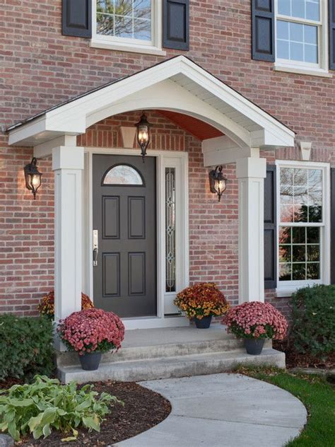 Front Door And Porch Ideas by 25 Best Ideas About Front Porch Design On