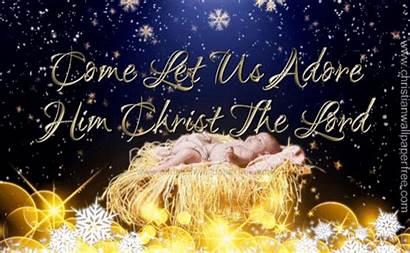 Him Adore Let Come