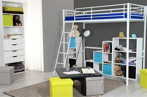 chambre gar輟n conforama le lit mezzanine ou le lit supersposé quelle variante choisir