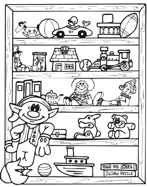 Toys Coloring Pages