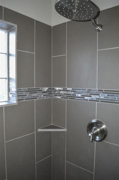 master walk shower glass block window