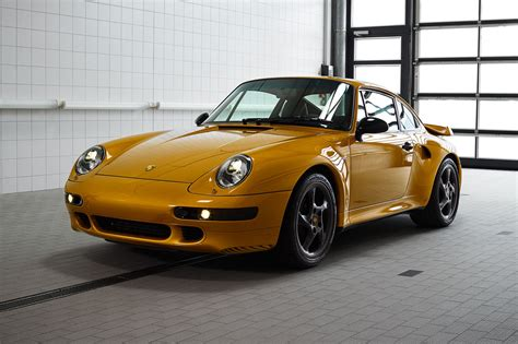 Porsche Car : Project Sold! Porsche's €�gold' 993 Restomod Goes For '�2.7m