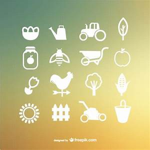 Farm icons Vector | Free Download
