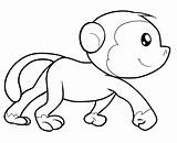 Coloring Monkeys Adult Few Children Printable Fans Justcolor sketch template