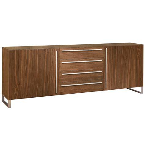 Modern Walnut Sideboard by Modern Buffets Leopold Walnut Sideboard Eurway
