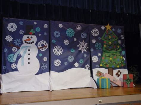 Backdrop Ideas For School by 34 Best School Stage Ideas Images On