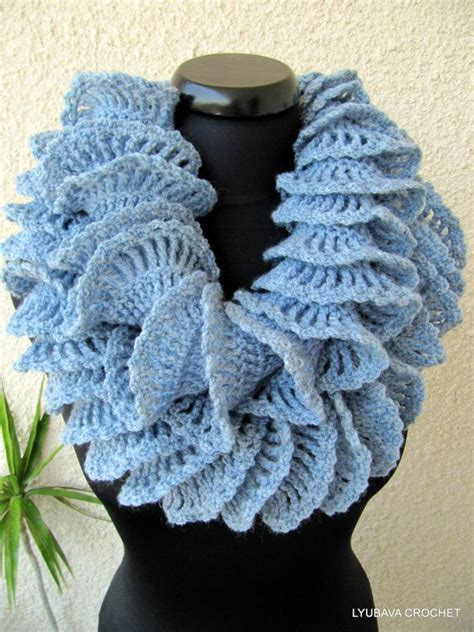 Sashay Scarf Crochet Pattern